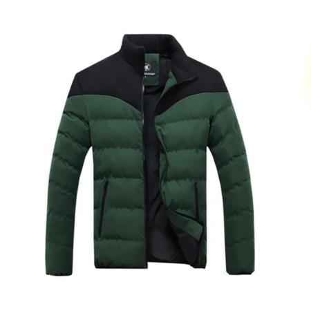 2016秋冬季新款休闲男装 韩版男式棉服 加厚保暖男士立领棉衣外套