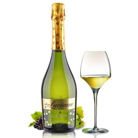 西班牙进口红酒 唐西娅半干高泡甜起泡酒 原瓶进口红葡萄酒750ml