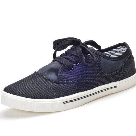 Mr.benyou2014m新款超帅人气商品男士韩版休闲鞋系带帆布鞋灰色H115-508