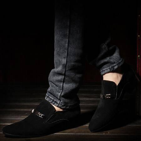 Mr.benyou 2014正品钱塘春季新款英伦韩版潮鞋时尚休闲尖头皮鞋男Q1011-215