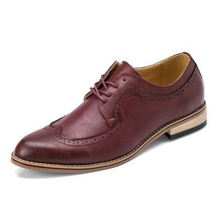 MR.BENYOU2015春夏时尚新款英伦经典复古雕花镂空透气厚底布洛克男鞋