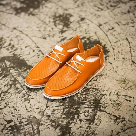 MR.BENYOU2015夏季新款冲孔透气两用韩版男鞋英伦潮流马丁单鞋男鞋Q