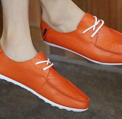 MR.BENYOU2015夏季新款 意大利头层小牛皮缝制休闲鞋 男士真皮板鞋Q