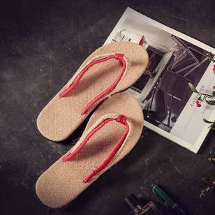 Mr.benyou2015夏季新款日系男潮拖鞋LES林弯弯情侣套趾拖鞋潮男凉鞋男士沙滩鞋 Z