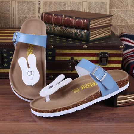 MR,BENYOU2015夏季新款拖鞋女时尚卡通韩版凉拖女 可爱沙滩拖 凉鞋女人字拖套趾Z