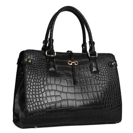 Mr.benyou2015夏季箱包新款潮流时尚女包鳄鱼纹定型手提包Q
