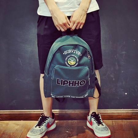 Mr.benyou2015夏季箱包新款日系复古学生双肩包 旅行背包Q