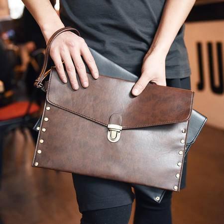 Mr.benyou2015夏季箱包新款男士夏季韩版 手拿包 信封包 手包 手腕包 锁包Q