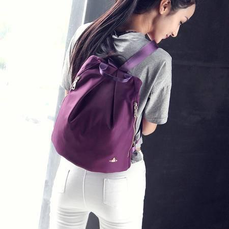 Mr.benyou2015夏季箱包新款Q女士双肩包 尼龙背包 防水书包 旅行包 Q