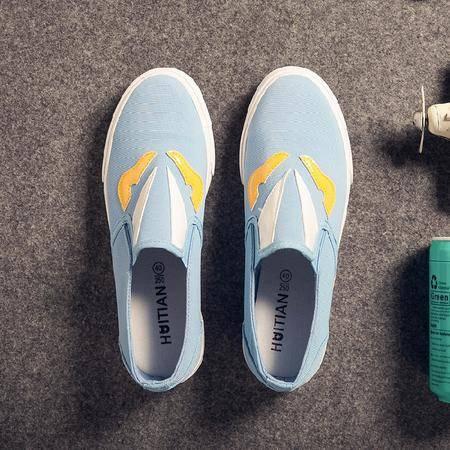 Mr.benyou2015春夏季百搭潮流男鞋透气帆布板鞋男韩版学生滑板鞋鞋男帆布鞋Y