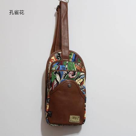 MR.BENYOU2015新款日系民族风单肩胸包证件包零钱包进货胸包帆布YY