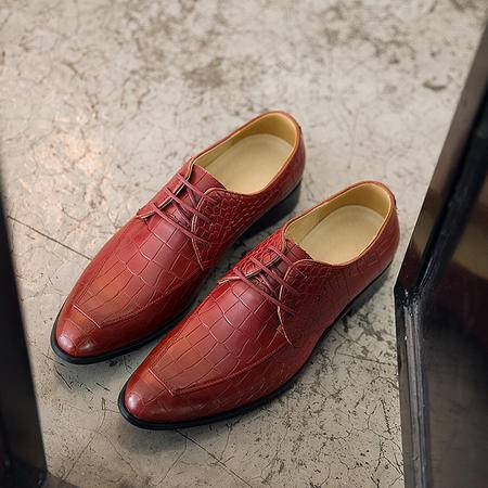 Mr.benyou2015男士皮鞋新款布洛克英伦休闲雕花商务男鞋复古潮流行时尚皮鞋YYY