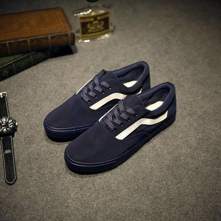 Mr.benyou2015秋冬季韩版黑白板鞋男女鞋帆布低帮鞋情侣运动休闲布鞋滑板鞋JJJ