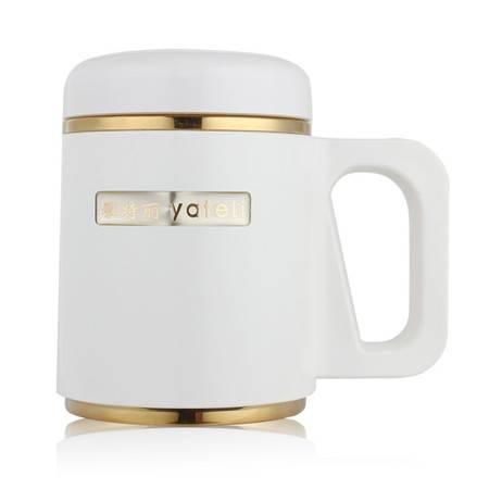 办公杯 真空杯 高档金边礼品杯 雅特丽负极磁化保温杯
