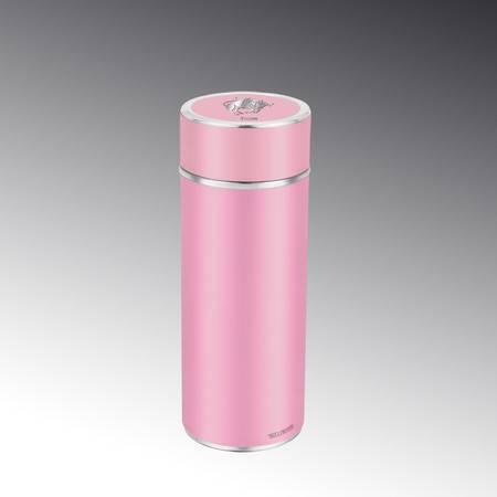 雅特丽不锈钢负极磁化杯男女士骨瓷星座杯办公杯商务杯保温杯礼品370ml