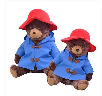 iloop可爱帕丁顿熊 泰迪熊公仔毛绒玩具大号抱抱熊 布娃娃玩偶女生礼物 帕丁顿熊