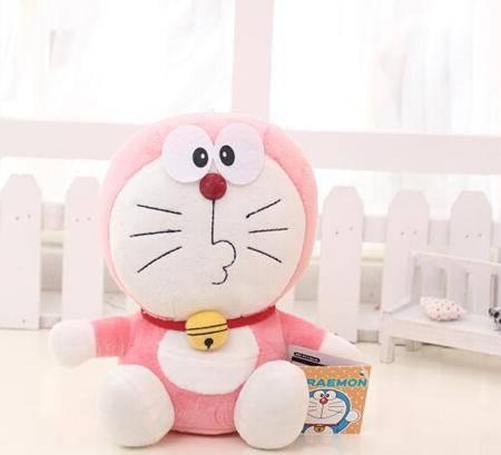 iloop-Q版叮当猫7种款式毛绒玩具生日礼物