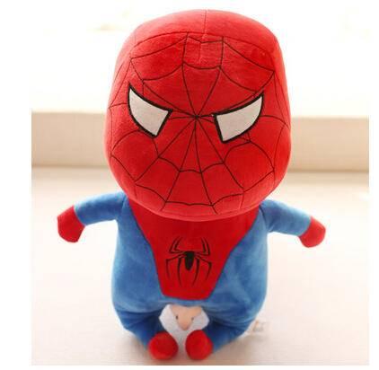 iloop 可爱蜡笔小新玩偶 搞笑超人蝙蝠侠毛绒玩具公仔 男孩儿童生日礼物