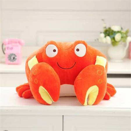 iloop螃蟹抱枕 创意睡觉抱枕公仔 抱枕玩偶 生日礼物