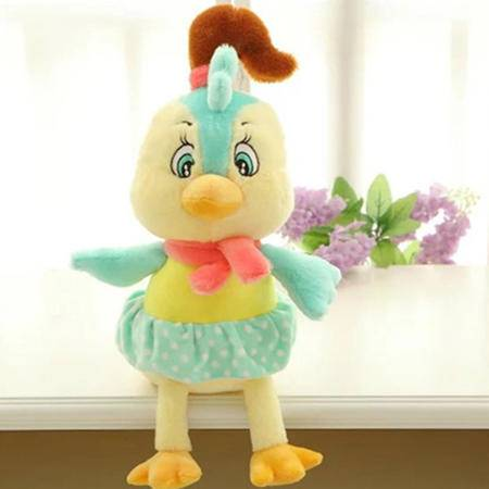 iloop 创意小鸡毛绒玩具鸡公仔咯咯鸡儿童布娃娃卡通大号毛绒玩具玩偶