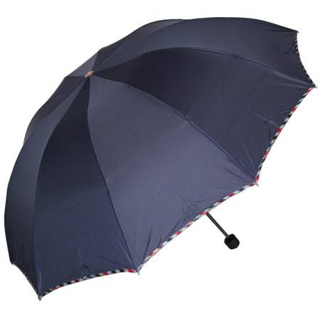 天堂伞强力拒水系列三折钢伞3311E碰双人伞家庭伞超大伞面全钢骨伞晴雨伞雨伞