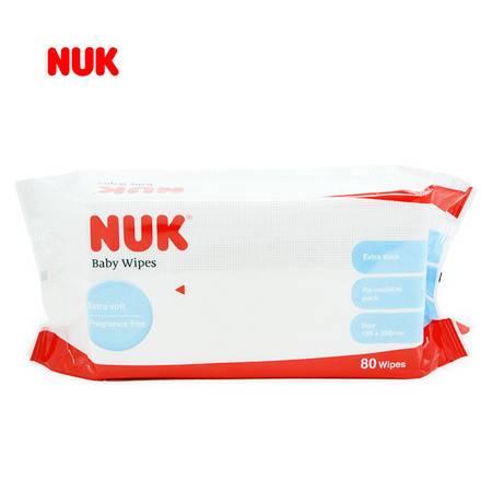 NUK超厚特柔婴儿湿巾(新80片装)