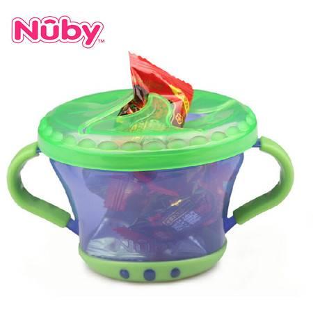 Nuby努比 婴儿零食自助存取盒存取罐储颜色随机