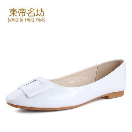 平跟单鞋女韩版新款休闲鞋浅口女鞋