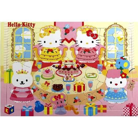 Hello Kitty生日派对/凯蒂猫拼图