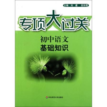 初中语文基础知识/专项大过关
