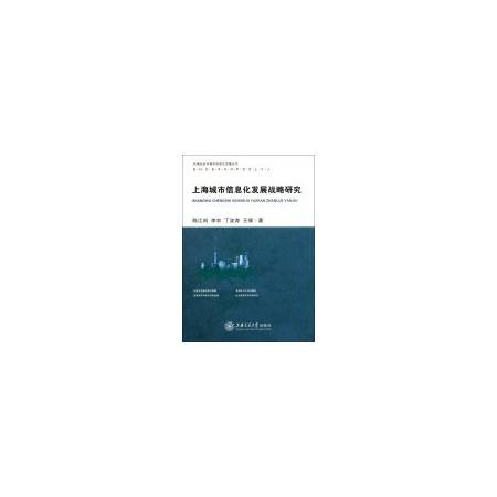 上海城市信息化发展战略研究/和谐社会与城市信息化发展丛书