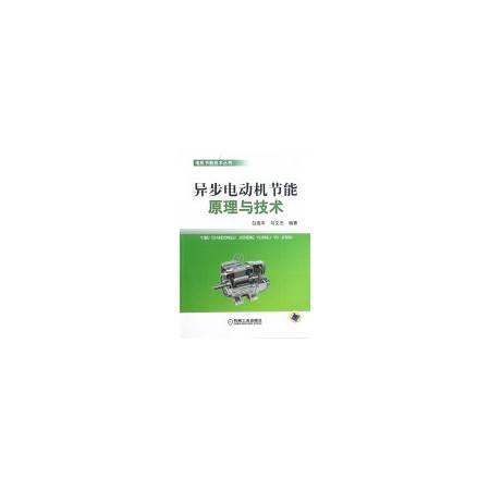 异步电动机节能原理与技术/电机节能技术丛书