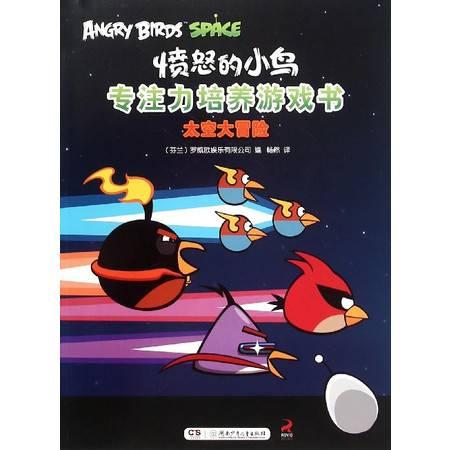 太空大冒险/愤怒的小鸟专注力培养游戏书