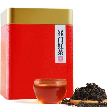 2016新茶叶安徽特产正品祁门红茶祁红毛峰250g/罐*2包邮精品