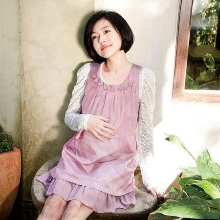 十月妈咪防辐射服孕妇装 孕妇防辐射服多彩时尚彩色银纤维防辐射服
