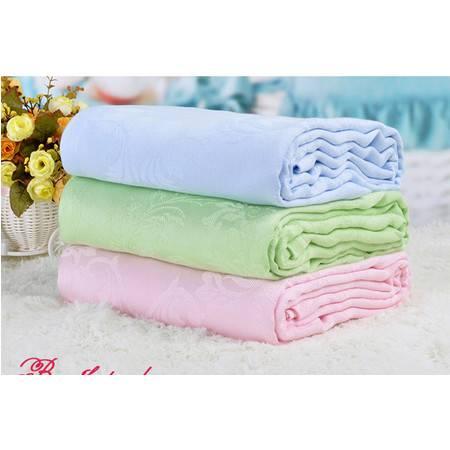 星澜家纺竹纤维单人盖毯毛巾被空调毯