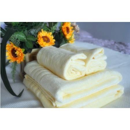 星澜家纺竹纤维简装家用成人大浴巾毛巾三件套一浴巾二毛巾