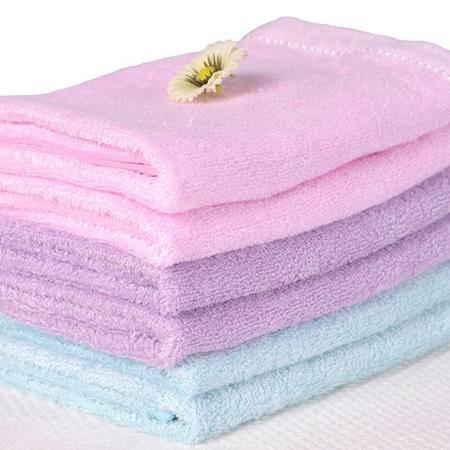 星澜家纺竹纤维方巾手帕六条组合装