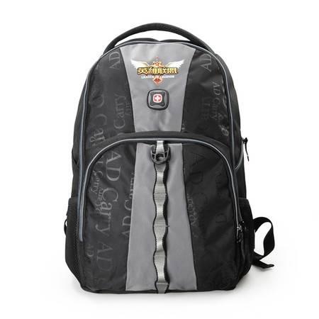 瑞士军刀威戈WENGER英雄联盟ADCarry黑/灰色电脑背包WGB6801005007