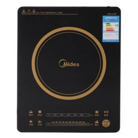 Midea/美的 RH2114 电磁炉超薄多功能匀火智能触摸屏正品