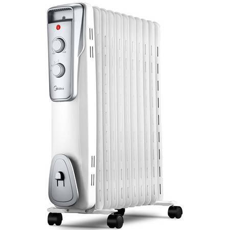 美的/MIDEA  NY2011-16J1W油汀家用升温电暖气暖气片11片电热制暖