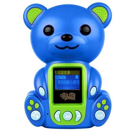 知识花园智乐熊早教故事机T1儿童MP3益智玩具胎教启蒙4G内存无线遥控可下载可充电童锁功能