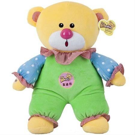 麦迪熊儿童对话早教机麦乐乐 婴幼儿启蒙益智胎教玩具 会说话的毛绒智力娃娃故事机英语儿歌唐诗