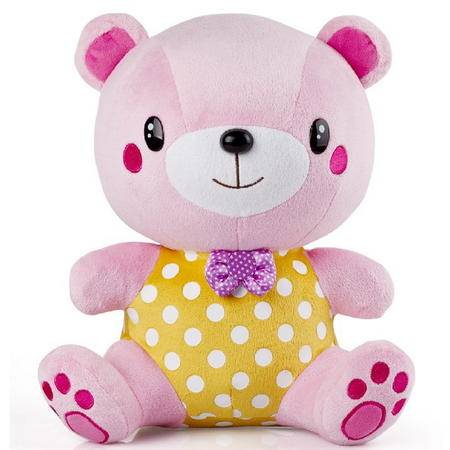 麦迪熊早教语音对话玩具麦豆豆 婴幼儿启蒙益智胎教故事机会说话的毛绒智力娃娃早教机英语唐诗