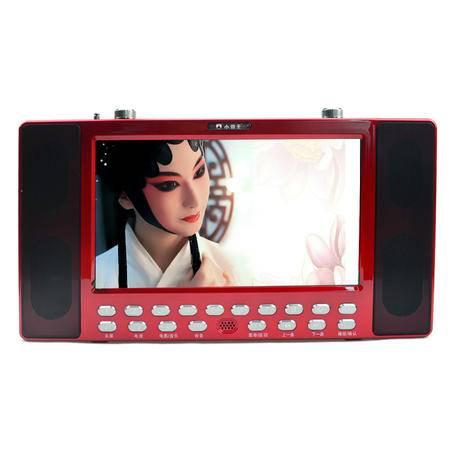 小霸王移动可视播放器SB-609B 高清数字视频机12寸超大屏带收音电视功能低音炮读