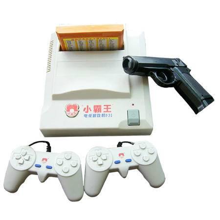 小霸王FC电视游戏机怀旧经典8位红白机D31 含245合1卡带送游戏枪
