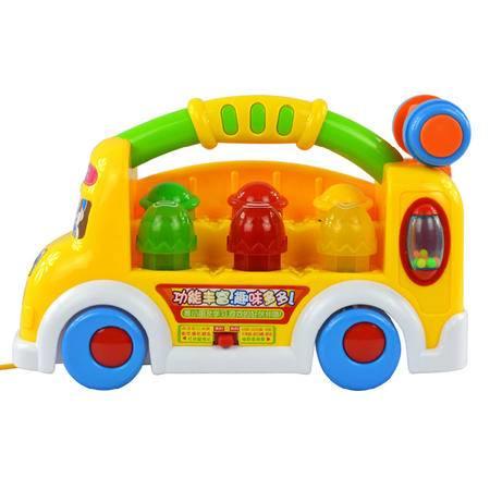 儿童车静音轮大黄鸭溜溜车滑行学步宝宝车子玩具可坐人