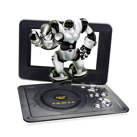 金正212移动电视DVD 12英寸便携式EVD影碟机3D游戏270度旋转插U盘SD卡光盘播放机