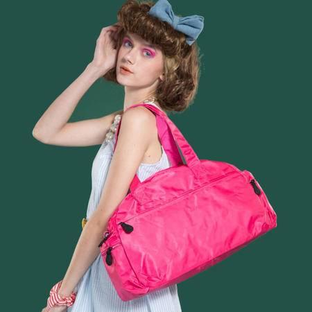 宝包包饰包邮进口加密防水尼龙水饺形运动出行旅游好伙伴时尚单肩手提包女包