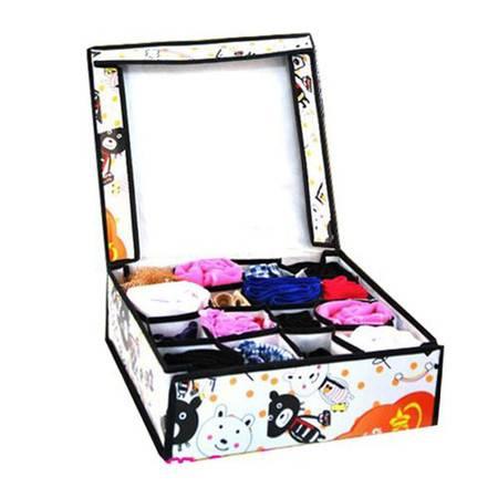 开馨宝16格硬盖内衣收纳盒/多用储物盒(K8204)